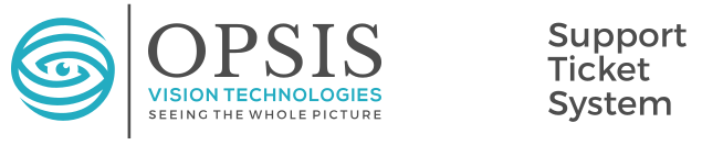 OPSIS VISION TECHNOLOGIES SUPPORT